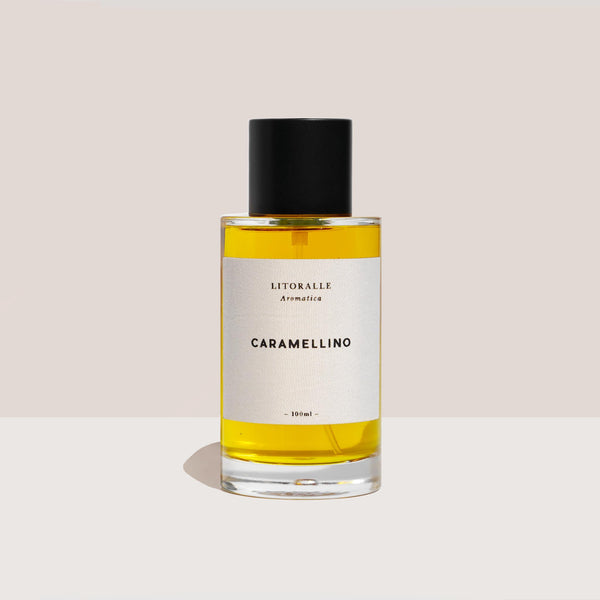 Litoralle Aromatica - Caramellino Perfume, available at LCD.