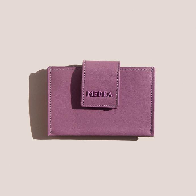 Medea - Small Casino 2-Pocket Wallet - Orchid, available at LCD.