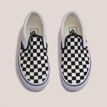 Load image into Gallery viewer, Vans - Vans - Classic Checkerboard Slip-On, available at LCD, aerial view, available at LCD.