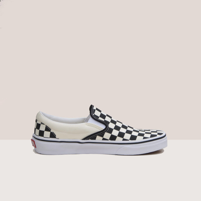 Vans - Vans - Classic Checkerboard Slip-On, available at LCD, side view, available at LCD.