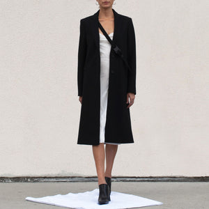 1017 Alyx 9SM - Classic Buckle Coat, front view, available at LCD.