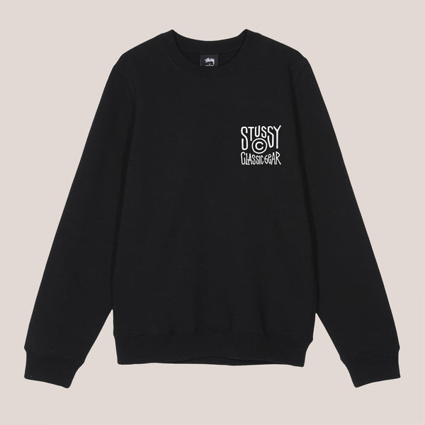 Stussy - Classic Gear Crew, front view, available at LCD.