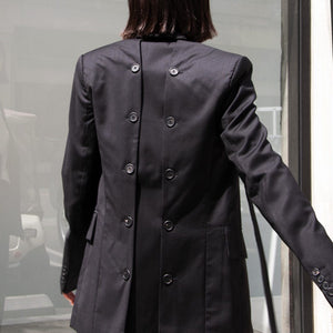 Delada - Classic Half Blazer, rear view, available at LCD.