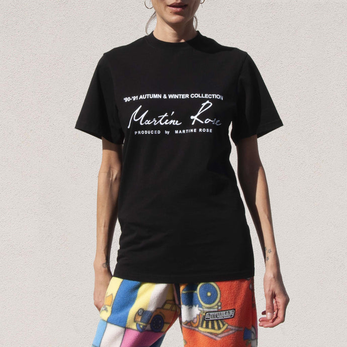 Martine Rose - Classic SS T-Shirt, front view, available at LCD.
