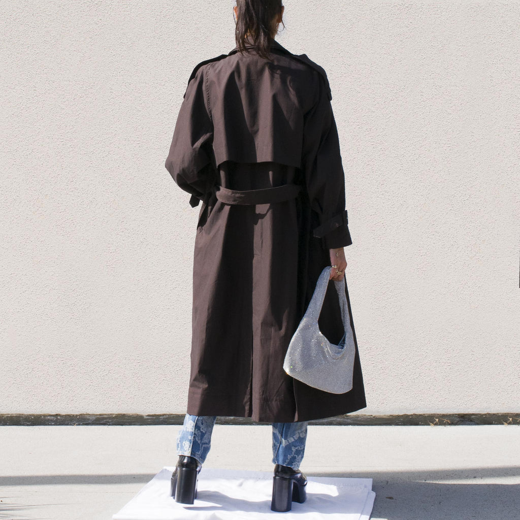 Low Classic - Classic Trench Coat, back view.