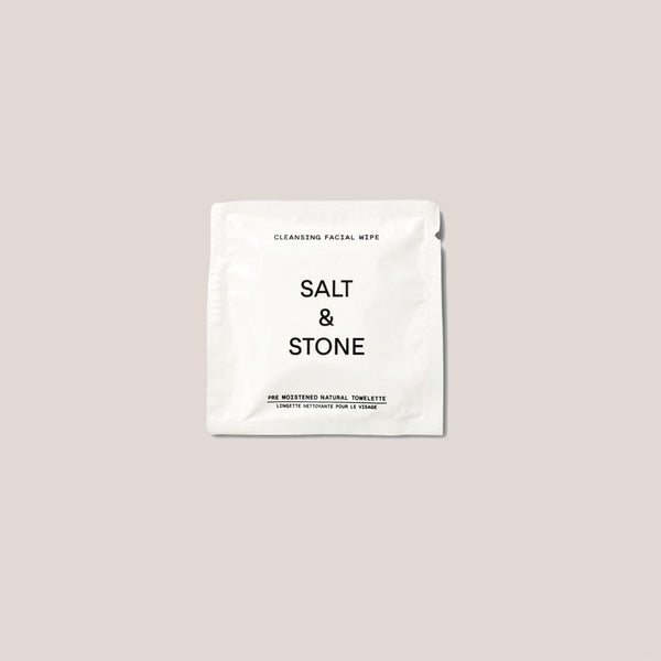 Salt & Stone - Cleansing Facial Wipes (20 pack), available at LCD.