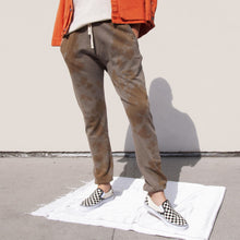 Load image into Gallery viewer, BILLY - Cloud Sweatpants - Rust Tie Dye, angled view, available at LCD.