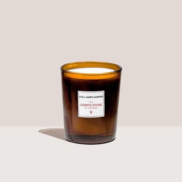 Lola James Harper - Comics Store Candle, available at LCD.