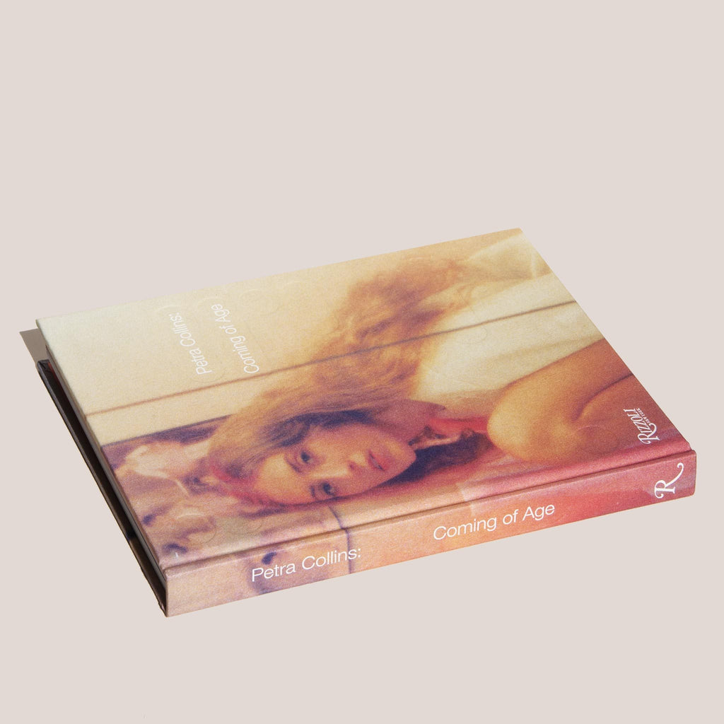 Petra Collins: Coming of Age, angled view, available at LCD.