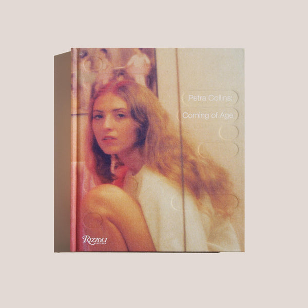 Petra Collins: Coming of Age, front cover, available at LCD.