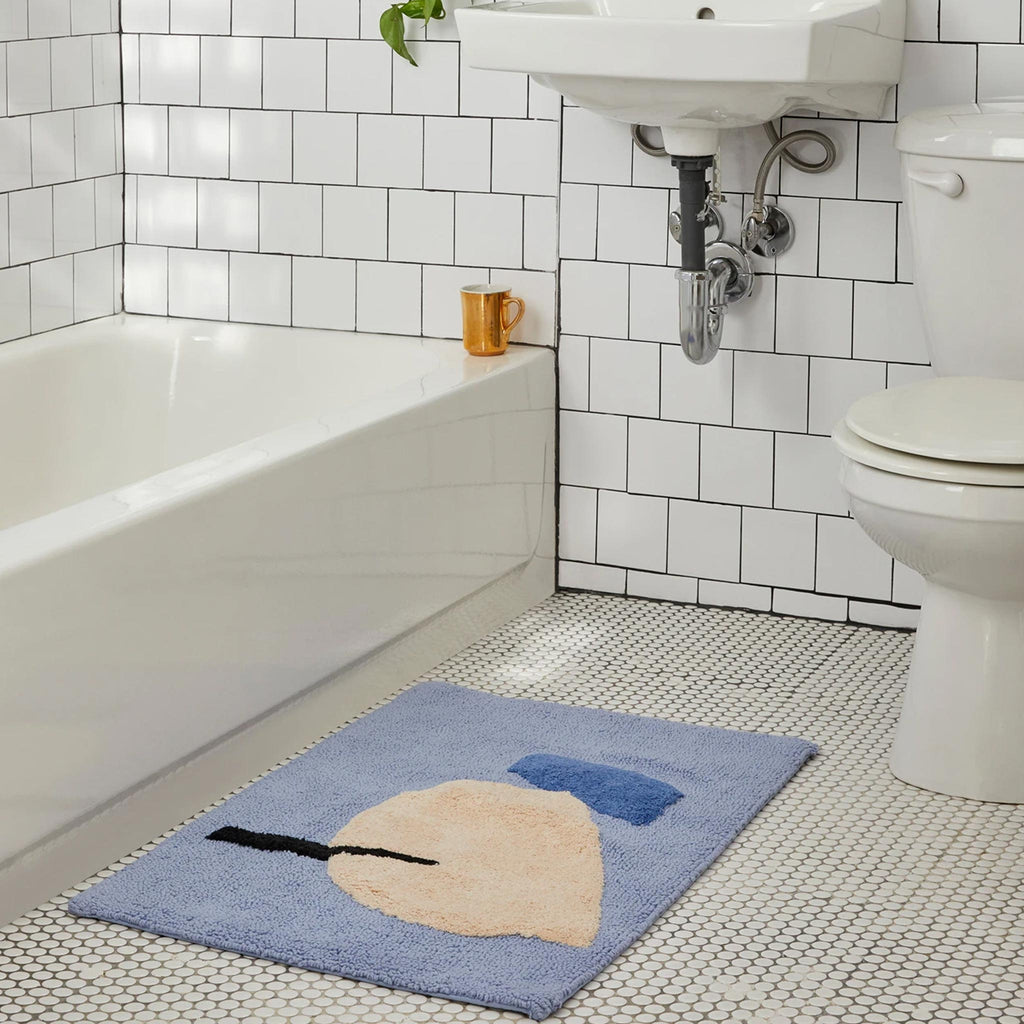 Cold Picnic - Cool Breeze Bath Mat.