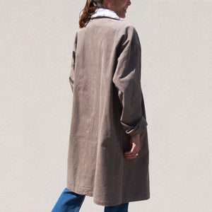 Long Corduroy Coat