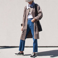 Load image into Gallery viewer, Stussy - Long Corduroy Coat, front view, available at LCD.