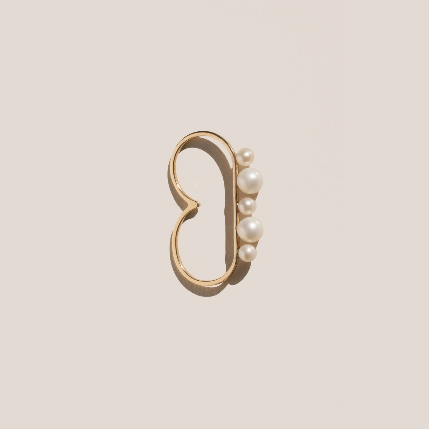 Gabriela Artigas - Cosmos Double Finger Ring, available at LCD.