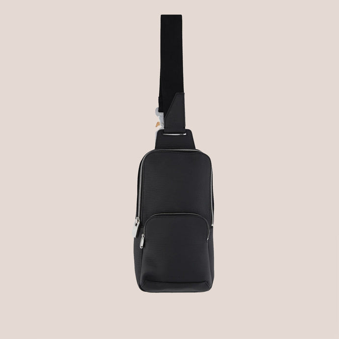 1017 Alyx 9SM - Small Crossbody Bag - Pebbled Leather, available at LCD.