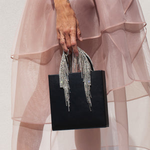 Kara - Crystal Fringe Tote, available at LCD.