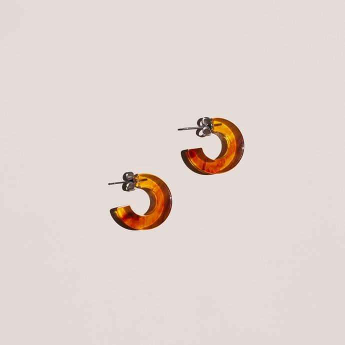 Rachel Comey - Cuba Earrings in Flame Marble, available at LCD.