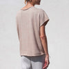 Lauren Manoogian, Shell Tee - Ecru, back view.