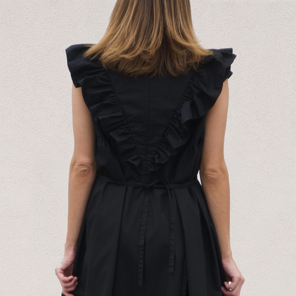 Sandy Liang - Dancey Dress, back detail, available at LCD.
