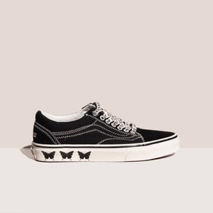 Vans - Sandy Liang Old Skool Sneaker - Delancy, side view, available at LCD.
