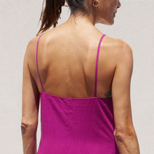 Load image into Gallery viewer, Mara Hoffman - Diana Dress in Hot Pink, back view, available at LCD.