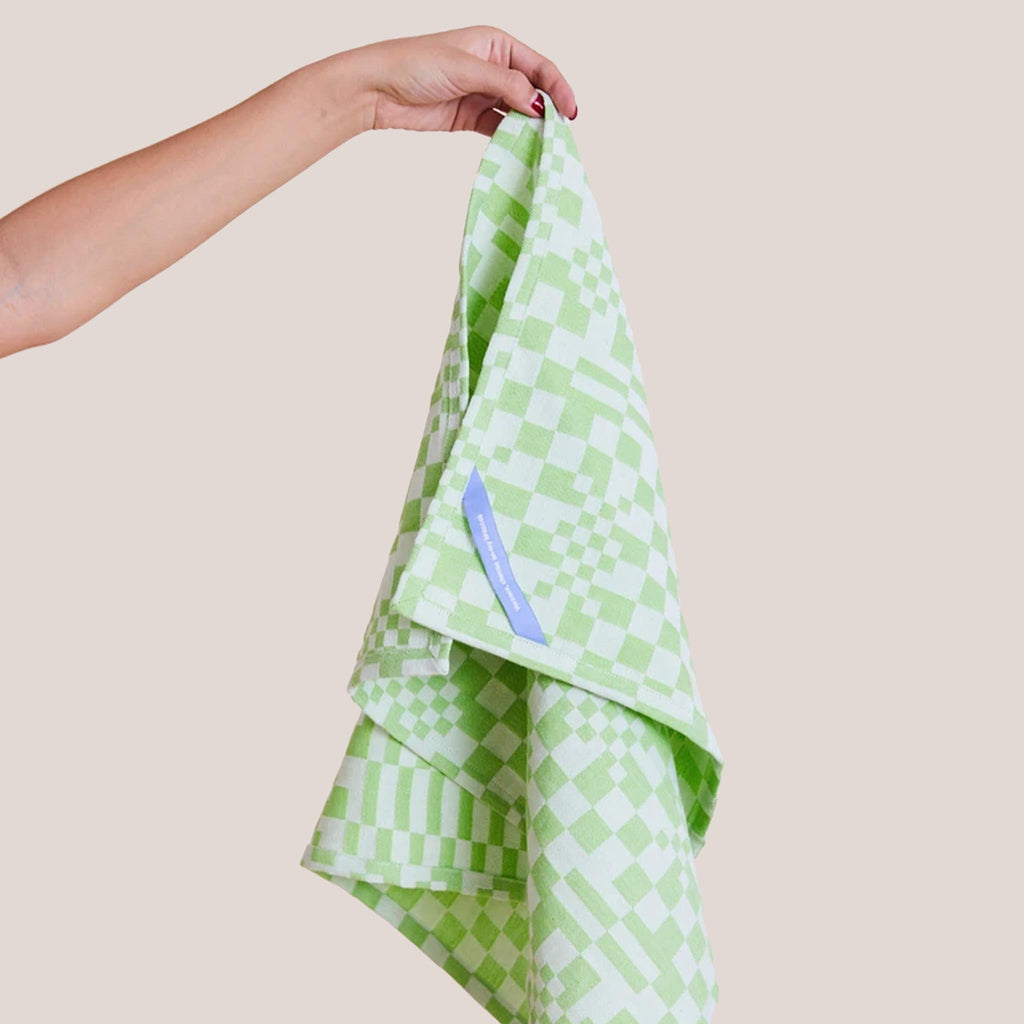 Dusen Dusen - Dish Towel in Check.