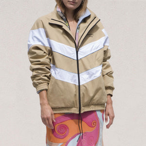 Martine Rose - Dub Jacket, front view, available at LCD.