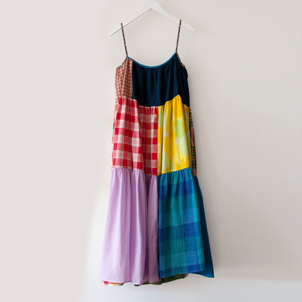 La Réunion - Vibrant Patchwork Dress, No. 4