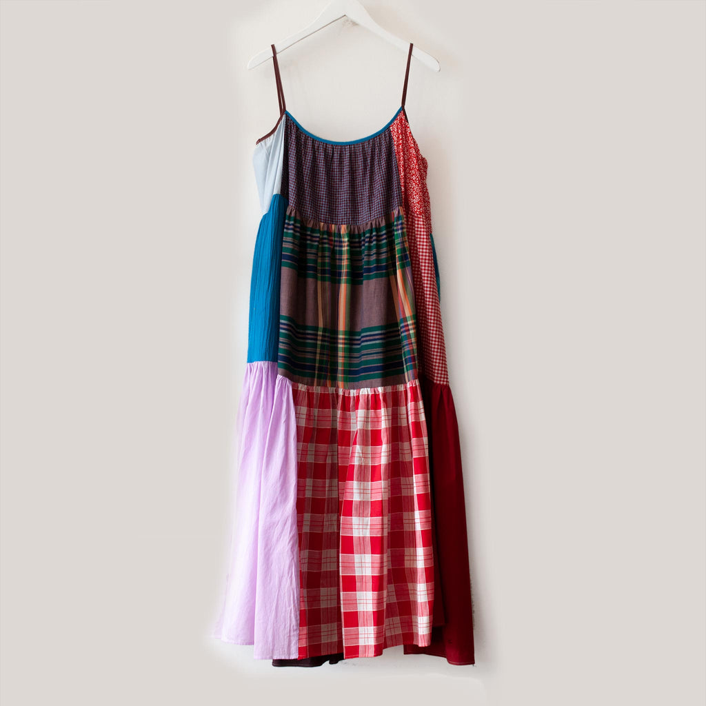 La Réunion - Vibrant Patchwork Dress, No. 6