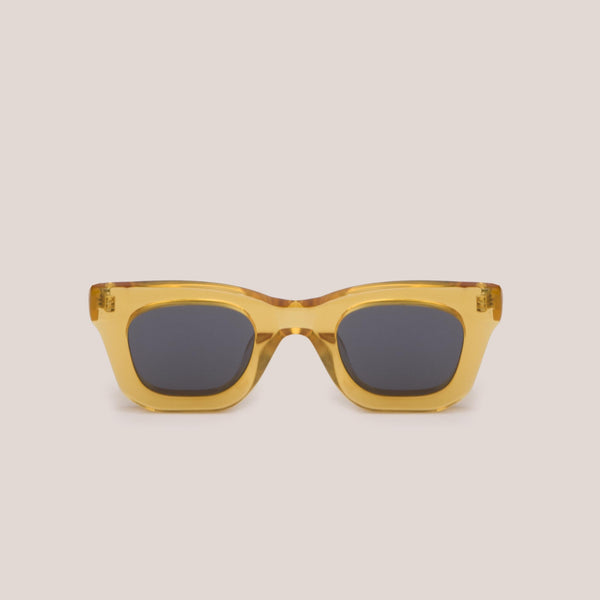 Braindead - Elia Sunglasses - Multi Amber, front view, available at LCD.