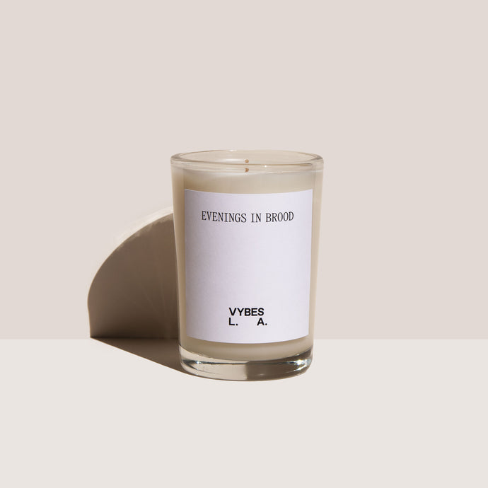 Vybes - Evenings in Brood Candle, available at LCD.