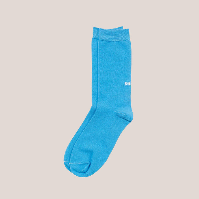 Stussy - Everyday Socks - Blue, available at LCD.