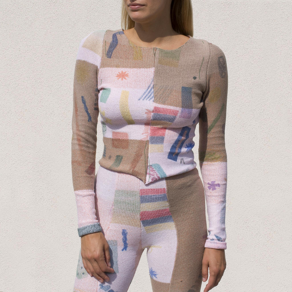 Eckhaus Latta - Filatti Top, front view, available at LCD.