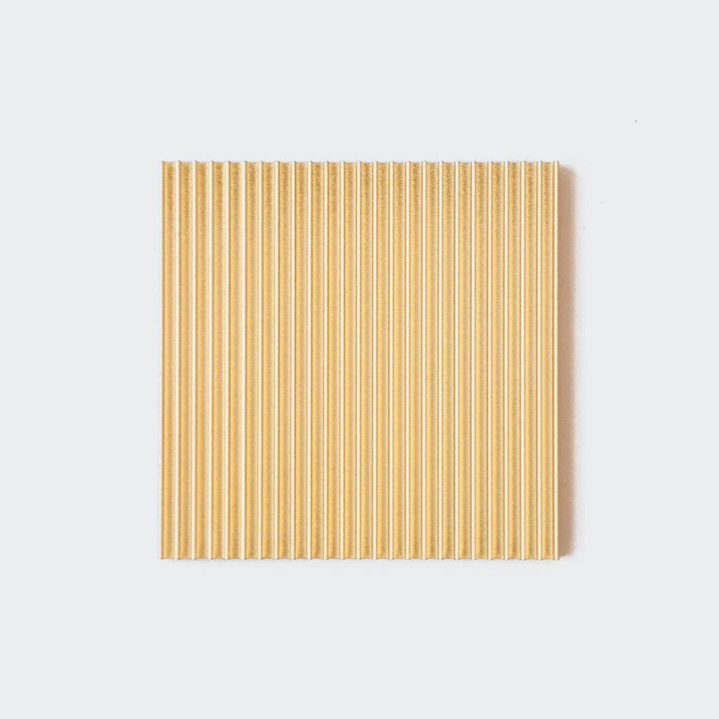 Souda - Fin Coasters - Gold, available at LCD