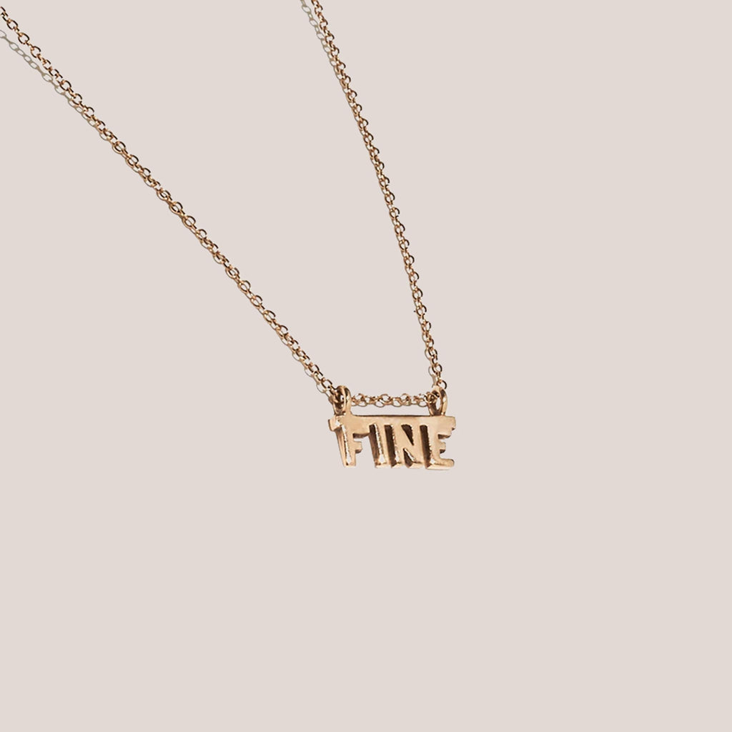 J. Hannah x Winden - Fine Necklace, available at LCD.