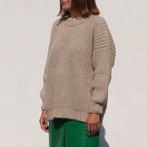 Lauren Manoogian - Fisherwoman Pullover, angled view, available at LCD.