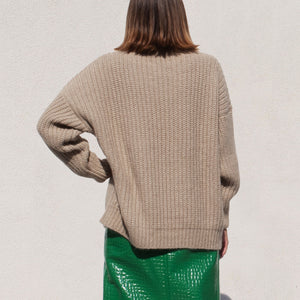 Lauren Manoogian - Fisherwoman Pullover, back view, available at LCD.