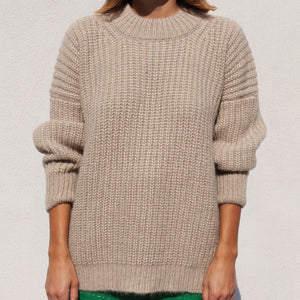 Lauren Manoogian - Fisherwoman Pullover, front view, available at LCD.