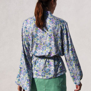 Walk of Shame - Flower Printed Blouse, available at LCD