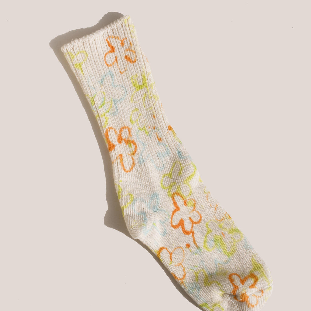 Collina Strada - Flower Socks - LCD Exclusive Multi-Colored.