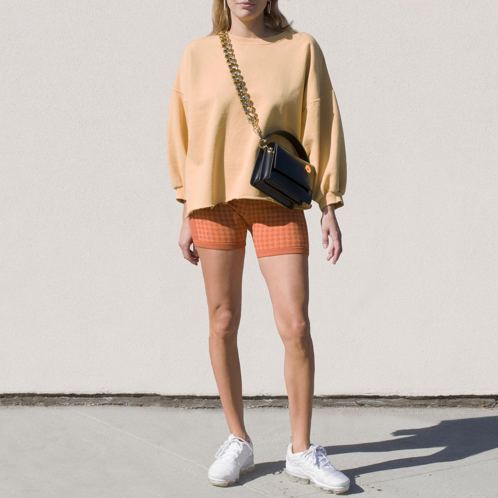 Rachel Comey - Fond Sweatshirt - Corn, front view, available at LCD.