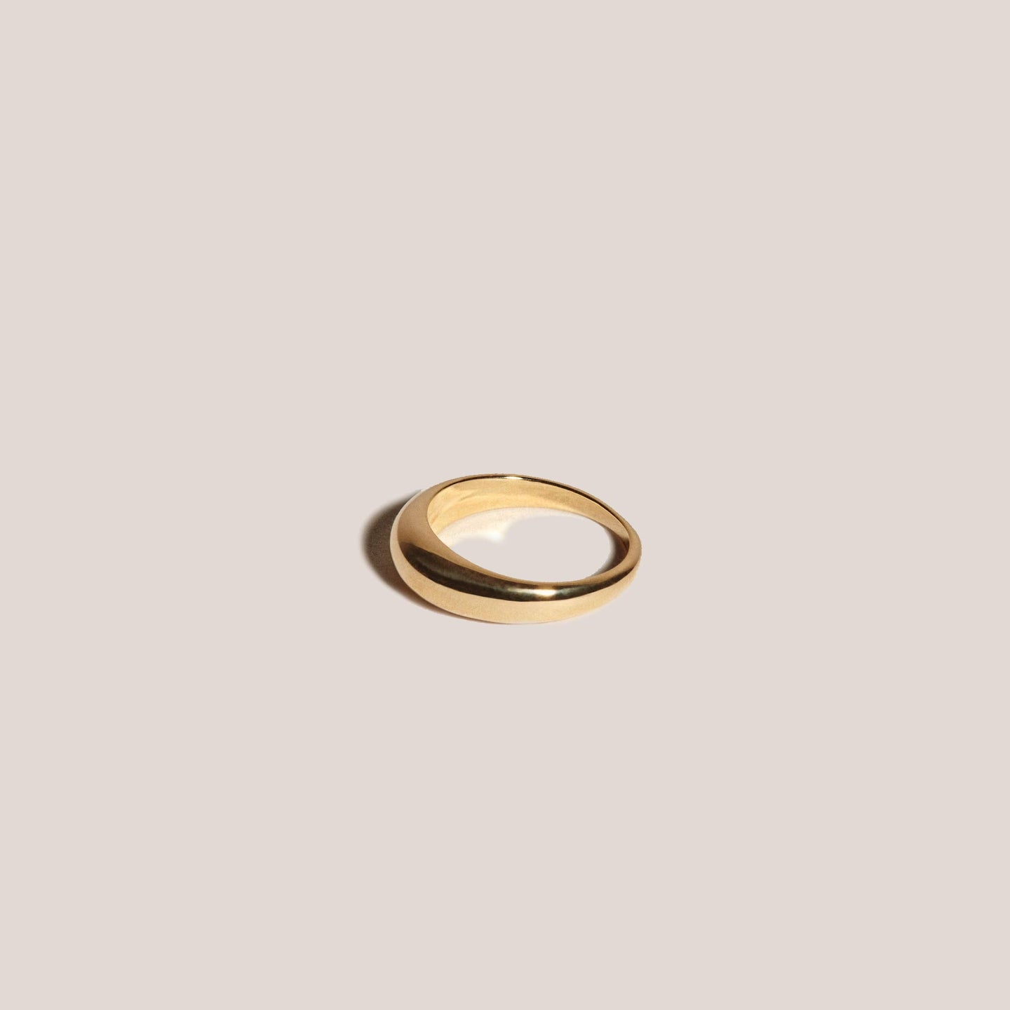 J. Hannah Jewelry - Form Ring I - 14K Yellow Gold, available at LCD.