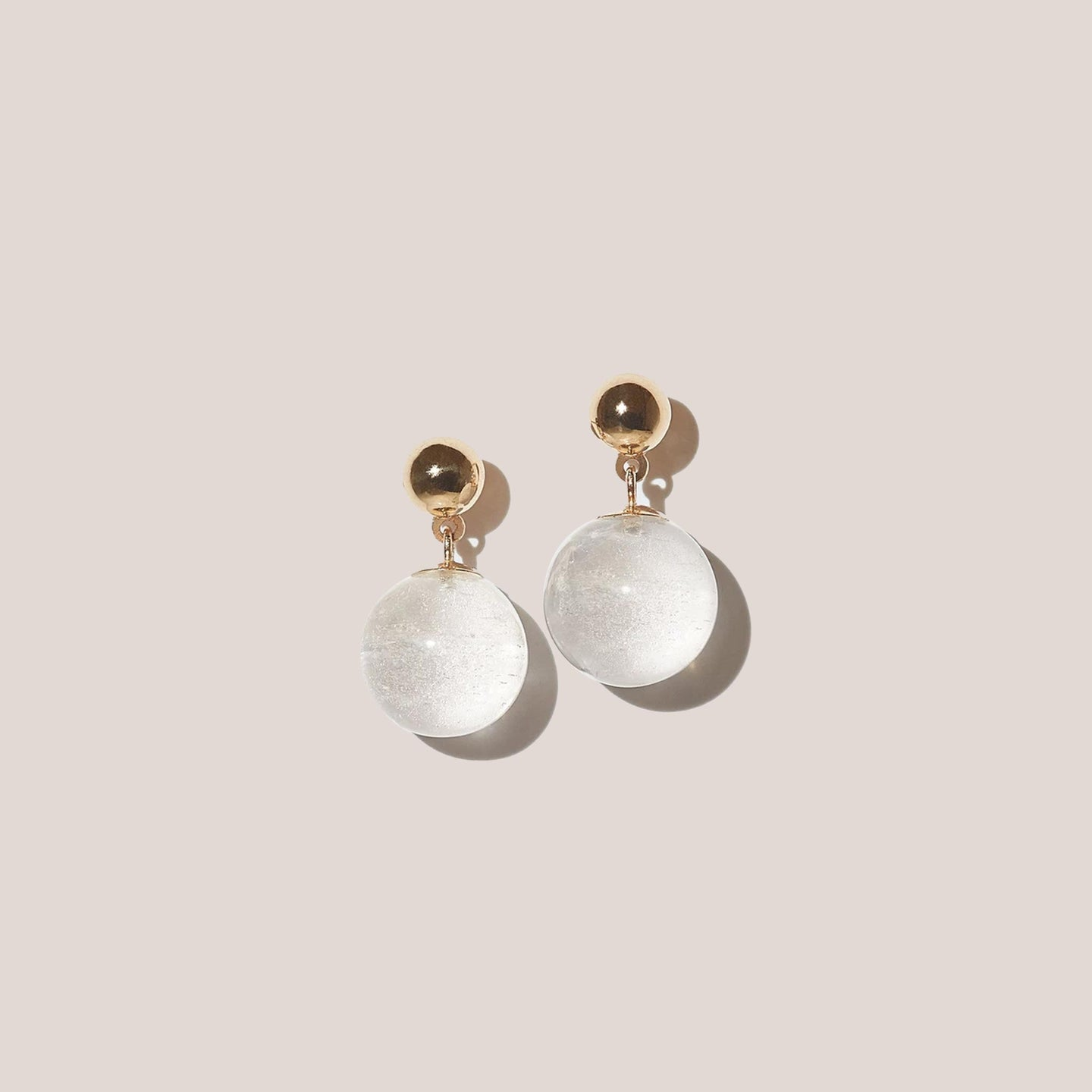 J. Hannah - Glace Drop Earrings, available at LCD.