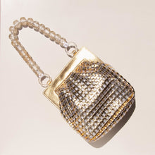 Load image into Gallery viewer, Maryam Nassir Zadeh - Glow Purse in Gold, aerial view, available at LCD.
