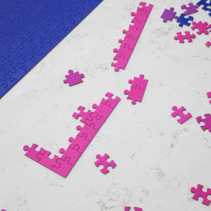 Areaware - Gradient Puzzle - Blue/Pink, available at LCD.