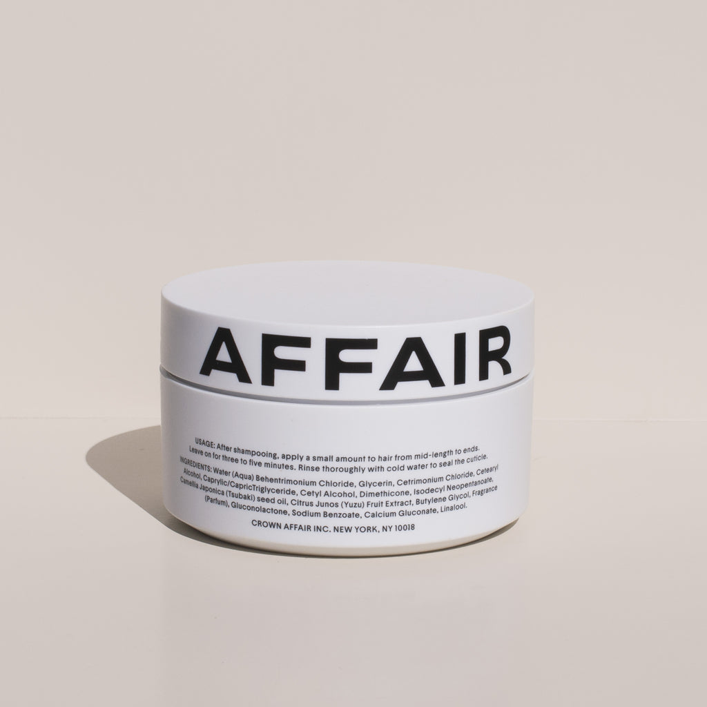 Crown Affair - Hair Renewal Mask, back view.