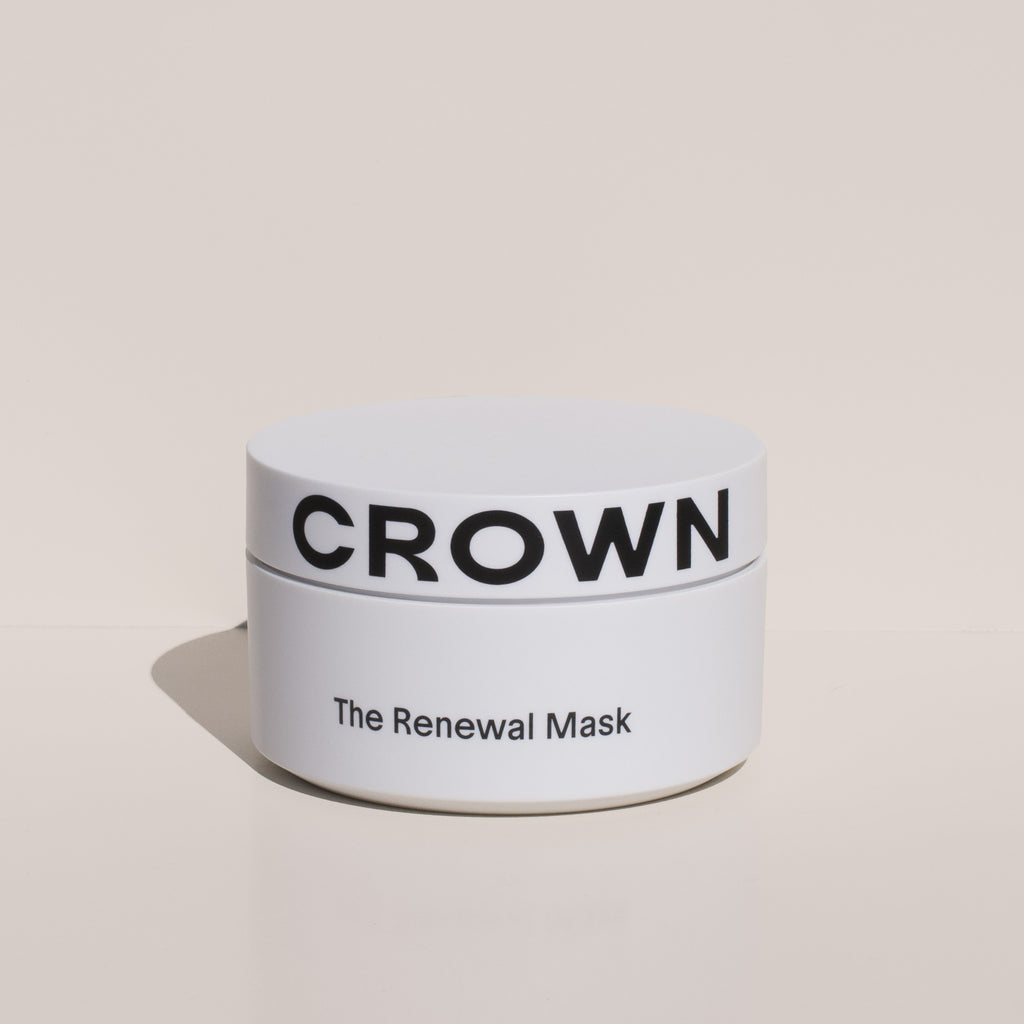 Crown Affair - Hair Renewal Mask, front view.