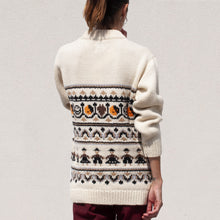 Load image into Gallery viewer, Ganni - Hand Knit Oversized Sweater, back view, available at LCD.