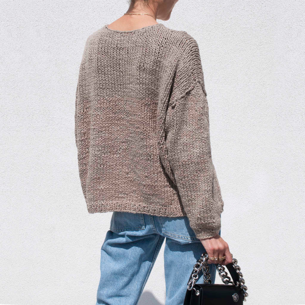 Lauren Manoogian - Handknit Pullover, available at LCD.