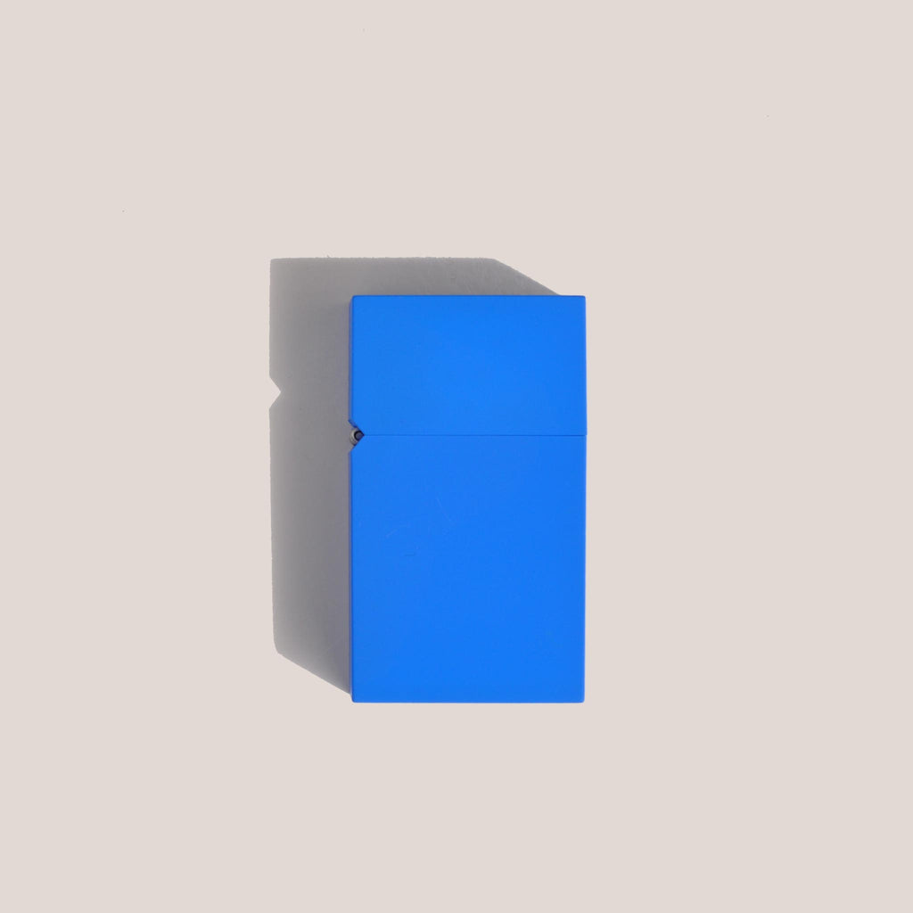 Tsubota Pearl - Hard Edge Lighter - Blue, available at LCD.